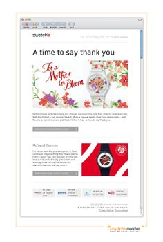 Brand: Swatch | Subject: Mother's Day - a time to say thank you