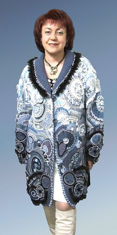 """Верхняя одежда ручной работы. Ярмарка Мастеров - ручная работа Пальто """"Непредсказуемая фантазия"""" мод.№122. Handmade."""