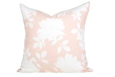 Studio McGee Home Collection || Peonies Blush Pillow