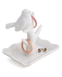Super cute ring and jewelry holder.