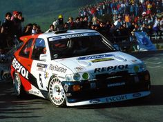 Ford Escort RS Cosworth rally car carlos sainz 1995 monte carlo..
