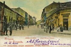 Knez Mihajlova 1900