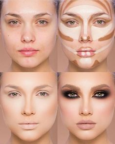 Easy Conture And Hignlight Makeup Tutorial Step By Step Ideas For Prom - Beauty Makeup - Make Up İdeas Best Contouring Products, Contouring Makeup, Highlighter Makeup, Contouring And Highlighting, Best Makeup Products, Contour Eyes, Make Up Contouring, Hair Products, Beauty Products