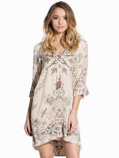 Another Day Tunic - Odd Molly - Porcelain - Dresses - Clothing - Women - Nelly.com Uk
