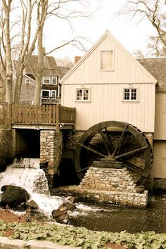 Jenny Grist Mill, oldest grill mill in the country (Plymouth, MA)