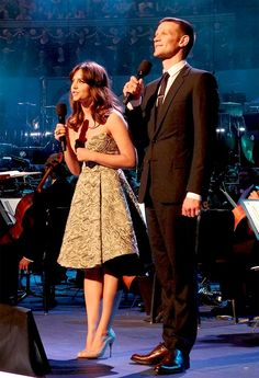 Jenna and Matt - Doctor Who prom