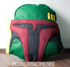 Boba Fett plushie tutorial - happy Star Wars day!