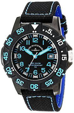 Bild ZENO HERREN 45MM SCHWARZ LEINEN… Basel, Breitling, Casio Watch, Watches, Shopping, Accessories, Watch, Linen Fabric, Tag Watches