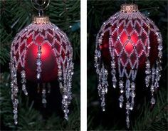 Sparkling Ornament Cover: