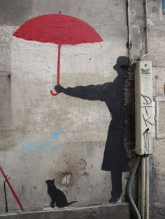 hereistheworld:  Banksy