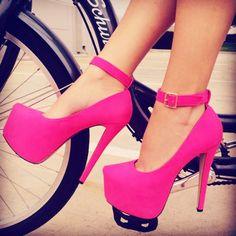 Fuchsia Heels