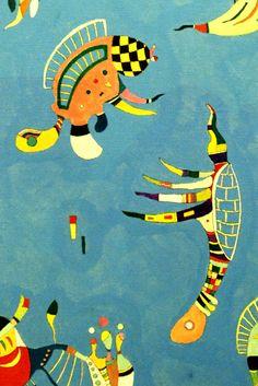 Sky blue, 1940 (detail) / Kandinsky