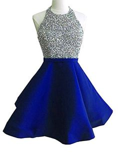 online shopping for HeleneBridal Women's Two Pieces Short Prom Gowns Beaded Homecoming Cocktail from top store. See new offer for HeleneBridal Women's Two Pieces Short Prom Gowns Beaded Homecoming Cocktail Winter Gowns, Winter Formal Dresses, Prom Gowns, Homecoming Dresses, Wedding Dresses, Short Prom, Short Dresses, Backless, Jay Godfrey