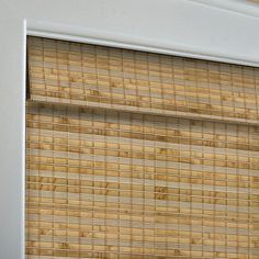 Shop Custom Size Now by Levolor Natural Bamboo Light Filtering Woven Wood Natural Roman Shade (Common 72-in; Actual: 71.5-in x 60-in) at Lowes.com