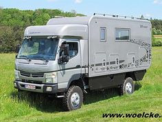motorhomes en Safari Off Road all wheel drive Allrad Reisemobiles Overland Truck, Expedition Vehicle, Outback Campers, Mobiles, Adventure Campers, Off Road Camper, Diy Camper, Truck Camper, House On Wheels