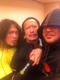 YAMATO, Punch Tominaga & Cyber Kong