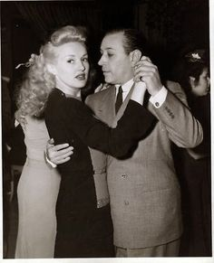 Betty Grable & George Raft