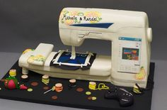 Former NASA Engineer Makes Mind-Boggling Cake Creations - My Modern Metropolis - forget all the other cakes, I want this sewing machine one :)