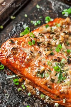 Asian Baked Salmon Recipe and Boston Marathon 2018 This Asian Baked Salmon Recipe is tender, flavorful, and only takes 15 minutes to cook. Asian Baked Salmon is the perfect weeknight meal to feel great about. Baked Salmon Recipes, Fish Recipes, Seafood Recipes, Asian Recipes, Baking Recipes, Dinner Recipes, Healthy Recipes, Honey Baked Salmon, Seafood Meals