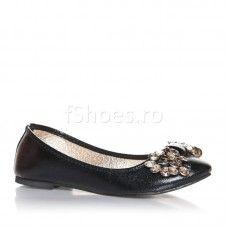 Balerini Elisabeth - Negru Flats, Shoes, Model, Fashion, Loafers & Slip Ons, Moda, Zapatos, Shoes Outlet