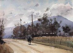 Daniel Marshall, Denver, 11x15, Midday Canter