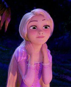"♥ ♥ ♥ ""So..."" Rapunzel animated GIF. [please visit my Disney blog: http://grown-up-disney-kid.tumblr.com/]"