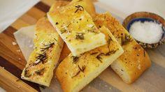 Recipe: Rosemary And Sea Salt Focaccia