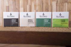 """Veja nosso novo produto Kit 4 Sabonetes Vegetais """"Argilas   Capim Limão""""   (5�ESC)! Se gostar, pode nos ajudar pinando-o em algum de seus painéis :)"""