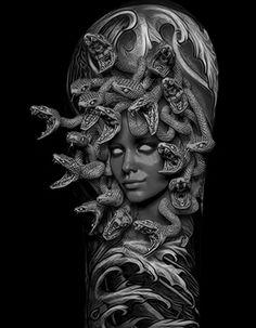 medusa tattoo sleeve - Google Search