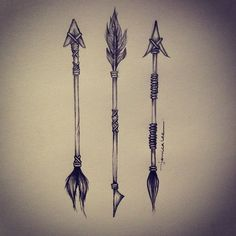 arrows #tribal #illustration #arrow