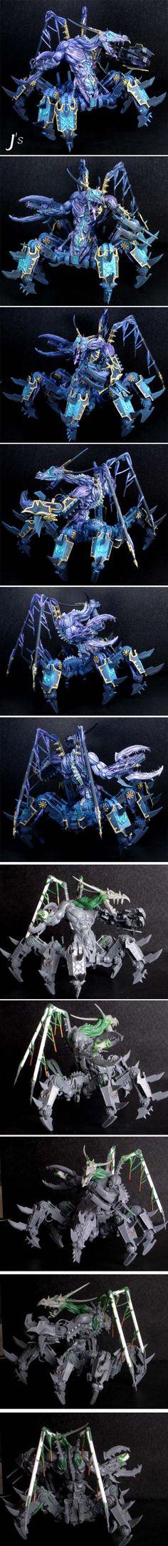 CoolMiniOrNot - J's Thousand Sons Defiler - Tzeentch Soul Grinder Figurine Warhammer, Warhammer Art, Warhammer Models, Warhammer 40k Miniatures, Warhammer Fantasy, Warhammer 40000, Chaos 40k, Chaos Daemons, Thousand Sons