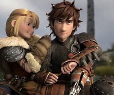 How to Train Your Dragon 2 Starring the voice talents of: America Ferrera as Astrid Hofferson and Jay Baruchel as Hiccup Horrendous Haddock III. Hiccup And Toothless, Hiccup And Astrid, How To Train Dragon, How To Train Your, Dreamworks Animation, Disney And Dreamworks, Jack Frost, Jay Baruchel, Beste Comics