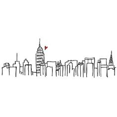 if you love new york city i have a question for you (and a little... ❤️ liked on Polyvore featuring fillers, backgrounds, drawings, doodles, sketches, text, quotes, effects, embellishments and details