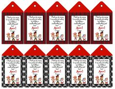 Jake and the Neverland Pirate Goodie Bag Tags by ckfireboots, $10.00