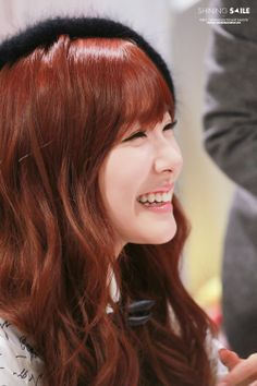 Tiffany's eye smile ^^
