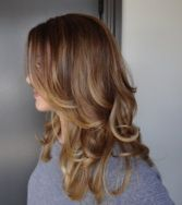 Check out this before & after of a golden ombre hair color done by Sarah Conner. Beautiful! Get more hair color inspiration by checking out Sarah's blog On Colour Ground.BEFOREAFTER