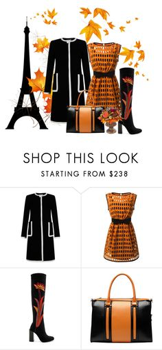 """Autumn an Paris"" by monika-michaela-zemanova ❤ liked on Polyvore featuring Bastien, Hobbs, Moschino, Jeffrey Campbell, Vicenzo Leather, MacKenzie-Childs, orangeandblack and colorchallenge"