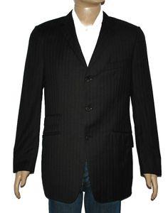 6b8b8f9fae8465 DUNHILL HERREN DESIGNER SAKKO GRAU GESTREIFT Gr.52 (   ART6031) Givenchy