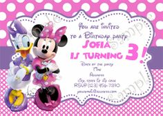 Birthday Party Supplies By Papel Pintado Daisy Duck PartyMinnie Mouse