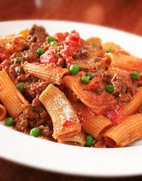Easy Eats : Weeknight Fast : Weeknight Fast : Grandma's Sweet and Spicy Rigatoni Rigatoni Recipes, Easy Eat, Italian Pasta, Sweet And Spicy, Entrees, Fountain, Main Dishes, Pizza, Favorite Recipes