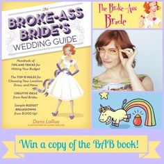 Win Your Own Copy of The Broke-Ass Bride's Wedding Guide!