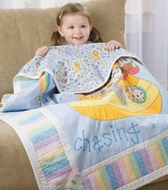 Precious Moments Baby Quilt Project courtesy of Jo-Ann Fabric & Craft StoresSkill Level: Some experience necessary (2) Crafting Time: Weekend Project Skill Level: Some experience necessary add to project list