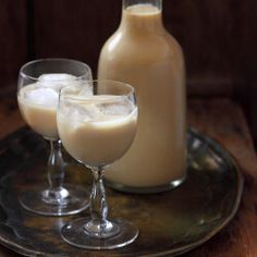 Homemade Baileys Irish Cream - Go to the link and click on the photo for the recipe. From Bulgaria.