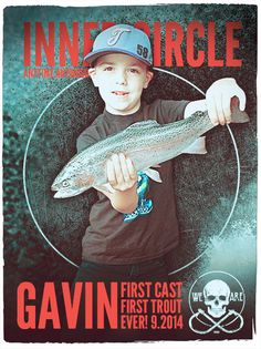 Gavin | Inner Circle | First Fish Ever!