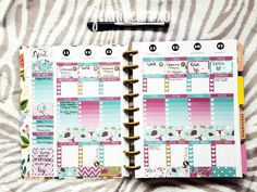 The Happy Planner Spread