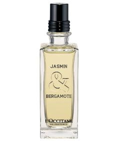 L'Occitane Jasmin & Bergamote Eau de Toilette The light mix of elegant jasmine and soft, fresh bergamot takes you to summers in the South of France. Subtle enough to use from day to night, it's a scent that lingers deliciously.