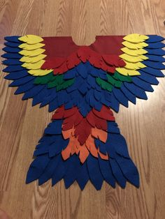 Baby Parrot Costume, Trick Or Treat, Flag, Costumes, Art, Art Background, Dress Up Clothes, Fancy Dress, Kunst