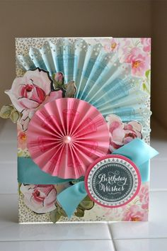 *anna griffin* birthday card by Aly D @2peasinabucket
