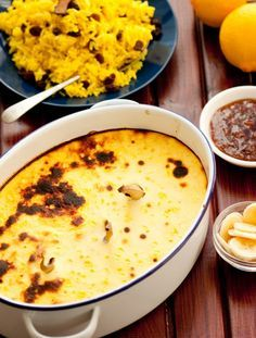 Traditional South African bobotie recipe - Getaway Magazine I made this for Hendric tonight, he hated it soooo much he had to have two helpings LOL