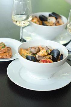 Seafood Recipes : Mixed Seafood Bouillabaisse